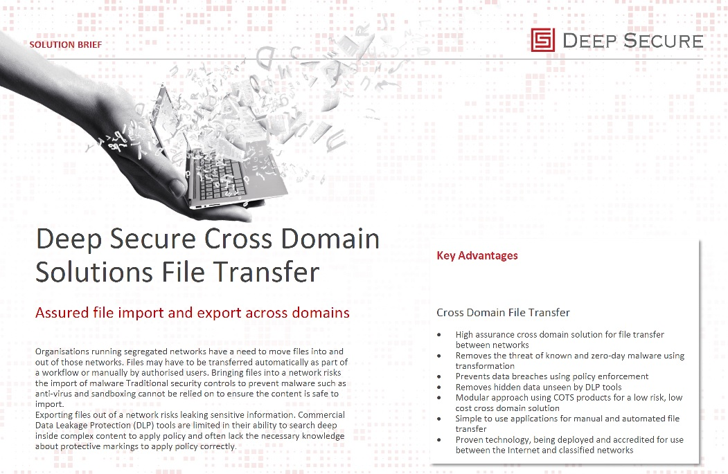 Cross Domain File Transfer