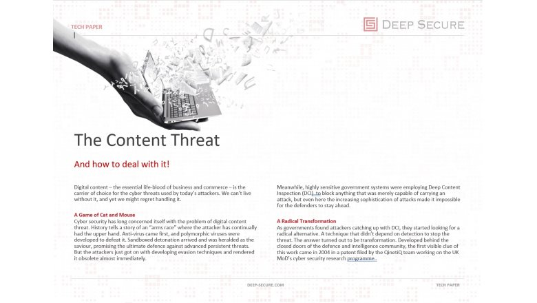 The Content Threat
