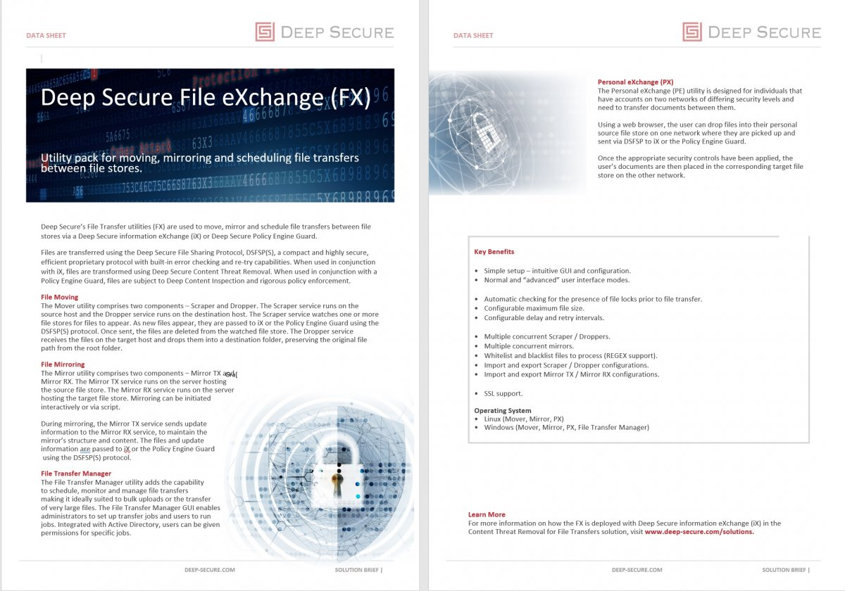 File eXchange (FX)