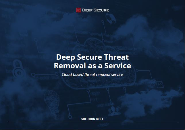 Threat Removal as a Service
