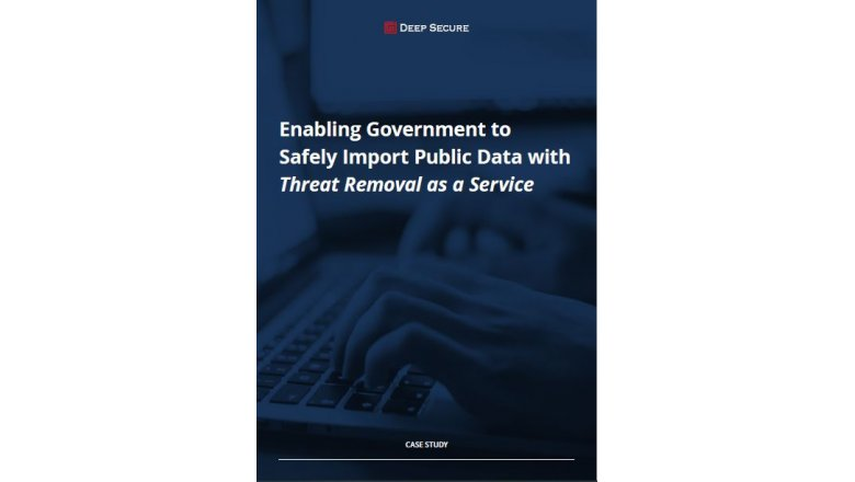 Enabling Government to Safely Import Public Data with Threat Removal as a Service