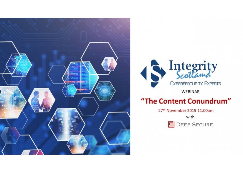 WEBINAR: The Content Conundrum