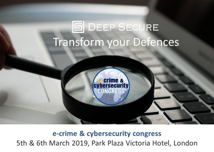 See us at the e-Crime and Cybersecurity Congress