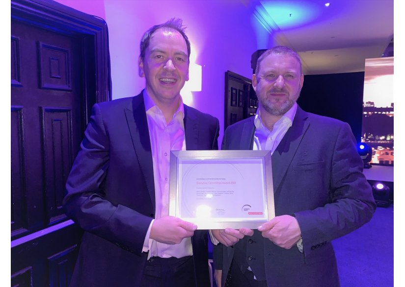 Deep Secure Scoops Award at BAE Chairman's Dinner