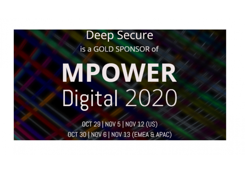 Deep Secure - Gold Sponsors at MPOWER 2020