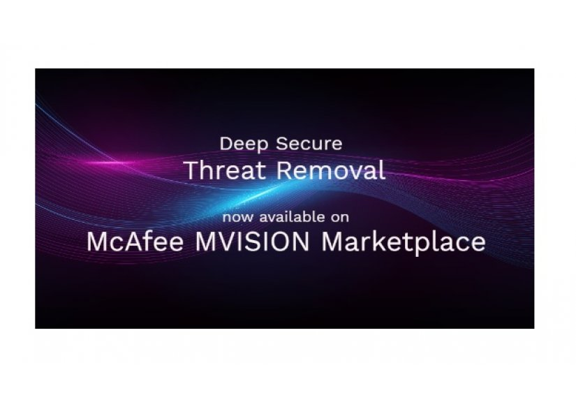 Deep Secure Selected as Inaugural Vendor for McAfee MVISION Marketplace